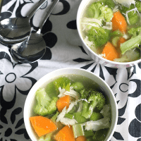 Chicken Detox Soup and My Health Journey Update