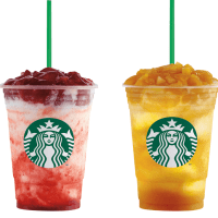 New Starbucks Fruit Jelly Yogurt Frappuccino!!!  (+New Food Items)