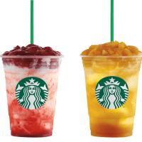 New Starbucks Fruit Jelly Yogurt Frappuccino!!!  (+New Food Items)
