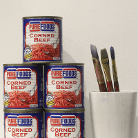 #IHeartArt with Purefoods Blue Line