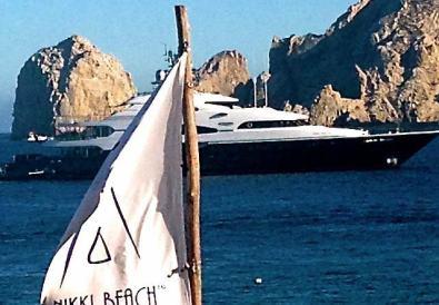 Nikki Beach Cabo yacht