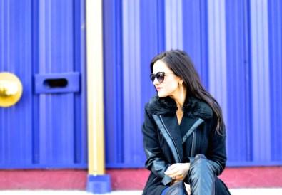 Fur Trimmed Winter Coat