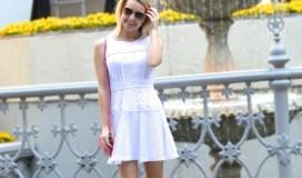 perfect white spring dress
