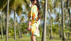 Summer caftan dresses