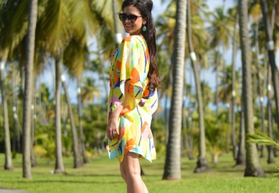 Summer caftan dresses