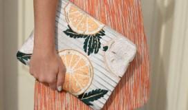 Orange Clutch