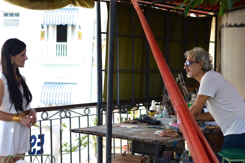 Cuban artist local