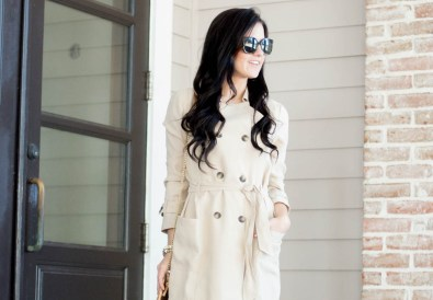 ELLA MOSS CANDICE SHORT TRENCH COAT