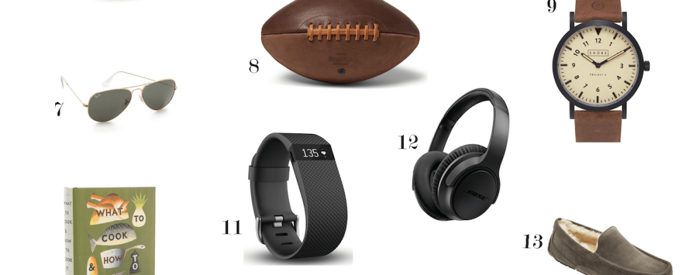 GIFT GUIDE: 23 Valentine's Gifts For Him Under $200