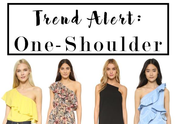 TREND ALERT: One-Shoulder