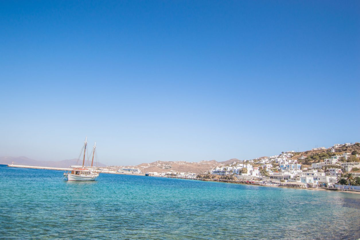 Mykonos Travel Guide best public beach little venice