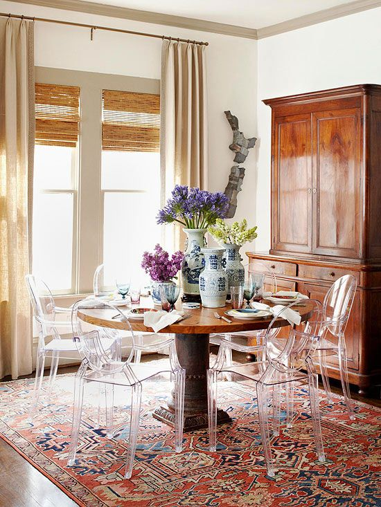 how-to-make-antiques-look-modern-dining-room