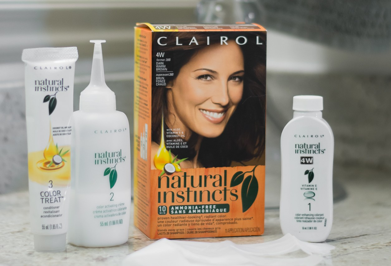 Clairol Natural Instincts Before and After