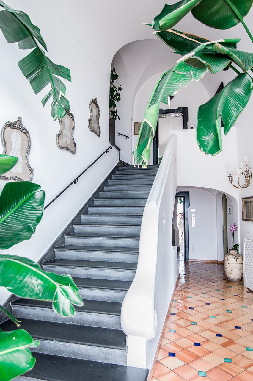 Le Sirenuse Positano Staircase Palm