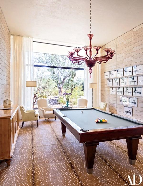 antelope-rug-pool-table-modern