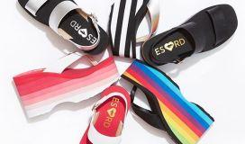 ES x RD RocketDog Platform Sandals Bigtop Comeback 90s