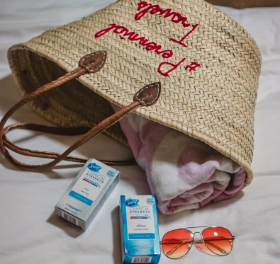 beach bag essentials beauty tips