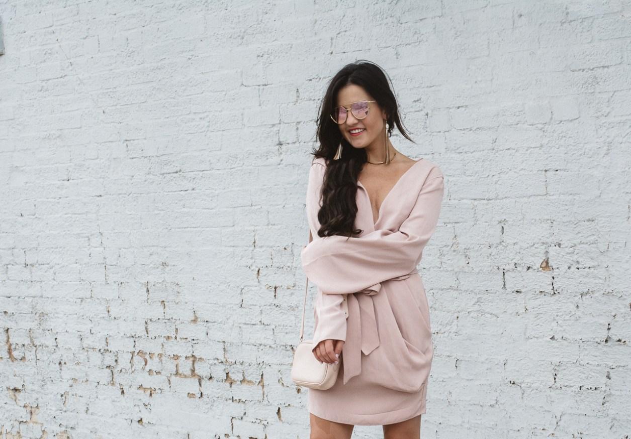 Blush Keepsake Wrap Dress (14 of 26)