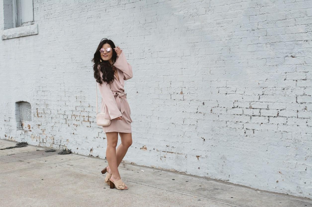 Blush Keepsake Wrap Dress (2 of 26)