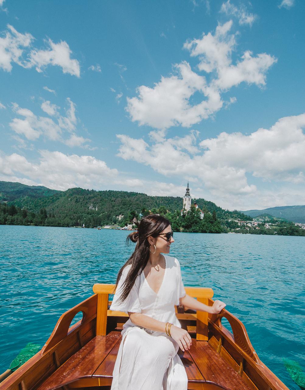 Lake Bled Row Boat