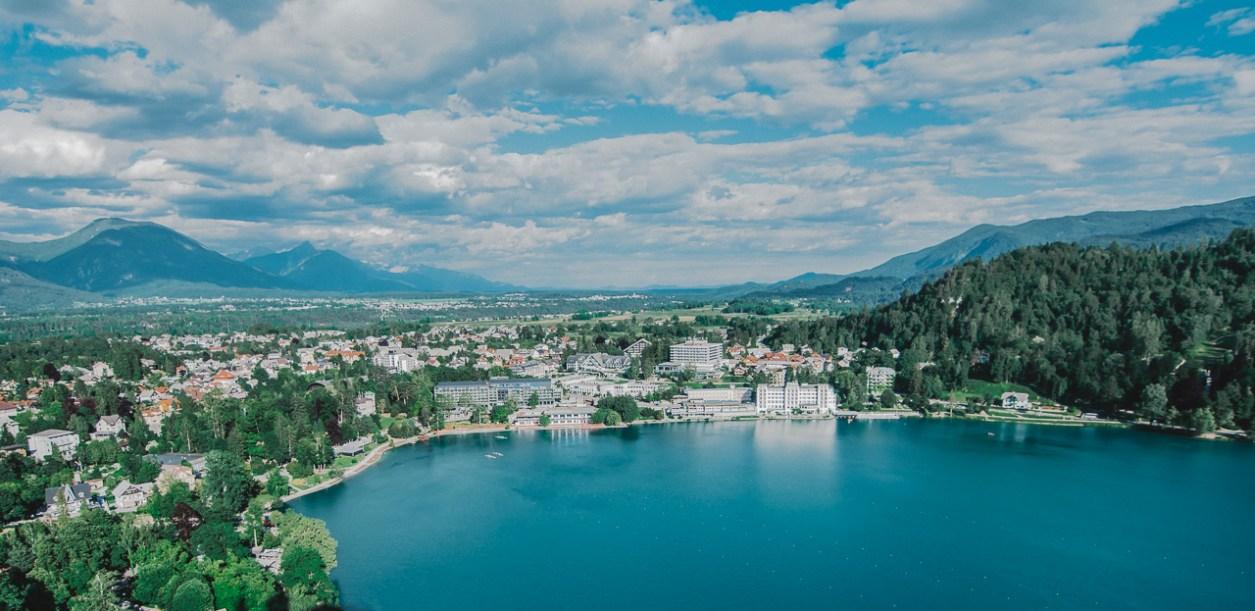 Lake Bled Aerial View