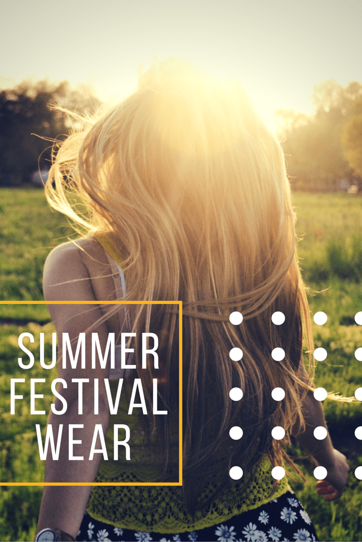 Wearable Wednesday: Summer Festival Wear