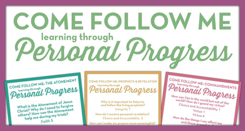 Come Follow Me through Personal Progress | Free Download