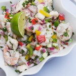 Shrimp and Grouper Fiesta Ceviche