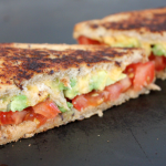 Tomato Avocado & Vegemite Grilled Cheese Sandwich