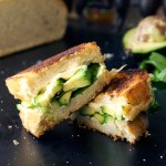 Wasabi Muenster Grilled Cheese