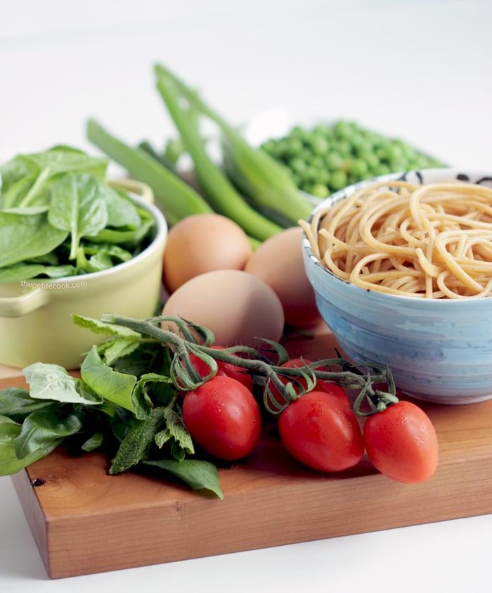 Leftover Spaghetti Frittata - The Petite Cook | The Petite ...