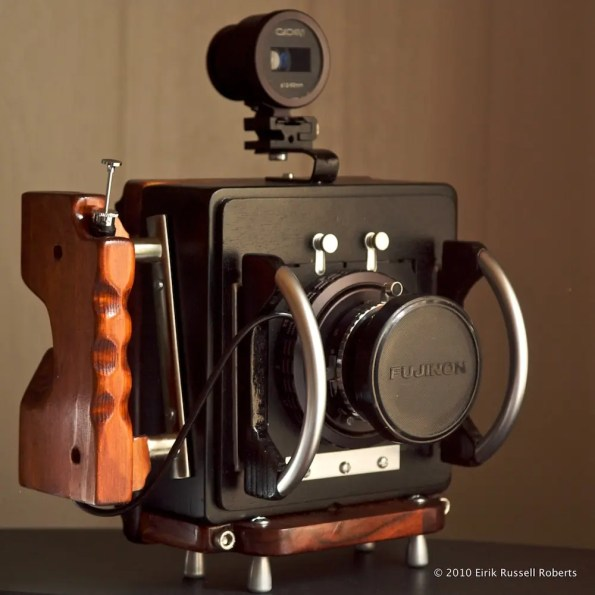 The final version of the 4x5/6x12 camera.