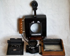 Eirik Russel Roberts DIY 4x5 Camera