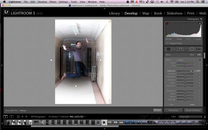 Chris Gampat The Phoblographer Adobe Lightroom 5 beta Radial Filter demo (3 of 9)