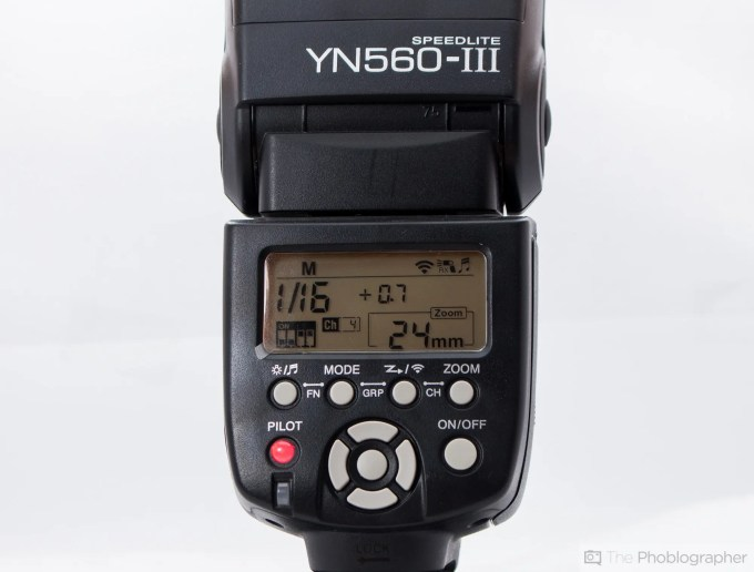 Chris Gampat The Phoblographer Yongnuo 560 III product photos (7 of 9)ISO 2001-30 sec at f - 7.1