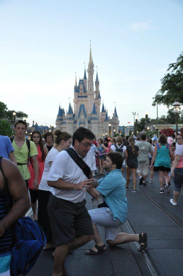 In The Way Guy Disneyland