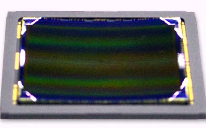 Sony Curved CMOS Image Sensor