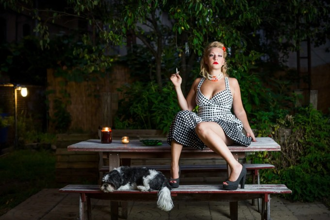 Model: Natalie Margiotta