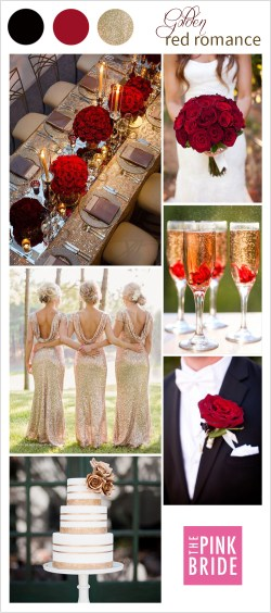 Pretty Red Color Palette Board Wedding Inspiration Pink Wedding Color Gen Red Romance Pink Bride Red Color Palette Cmyk Red Color Palette R G