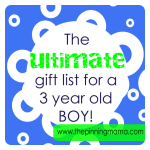 gift ideas for 3 year old
