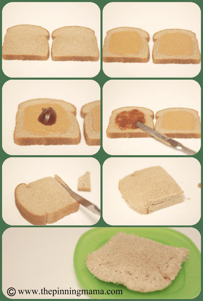 Freezer Cooking Peanut butter & Jelly Sandwich