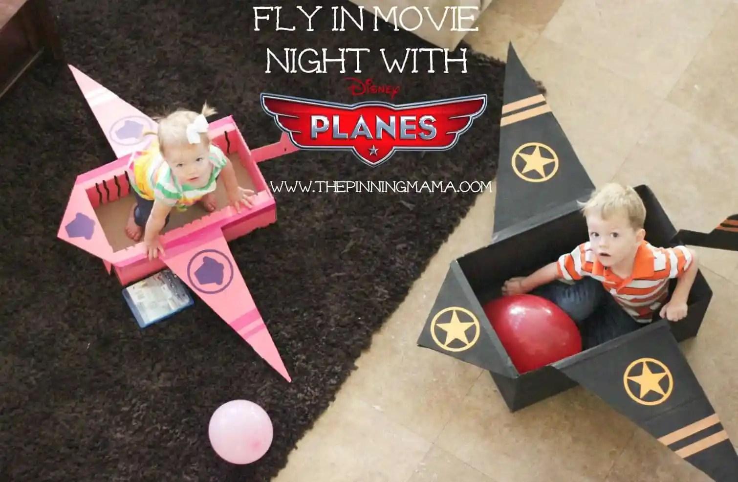 web DIY Cardboard Plane 13