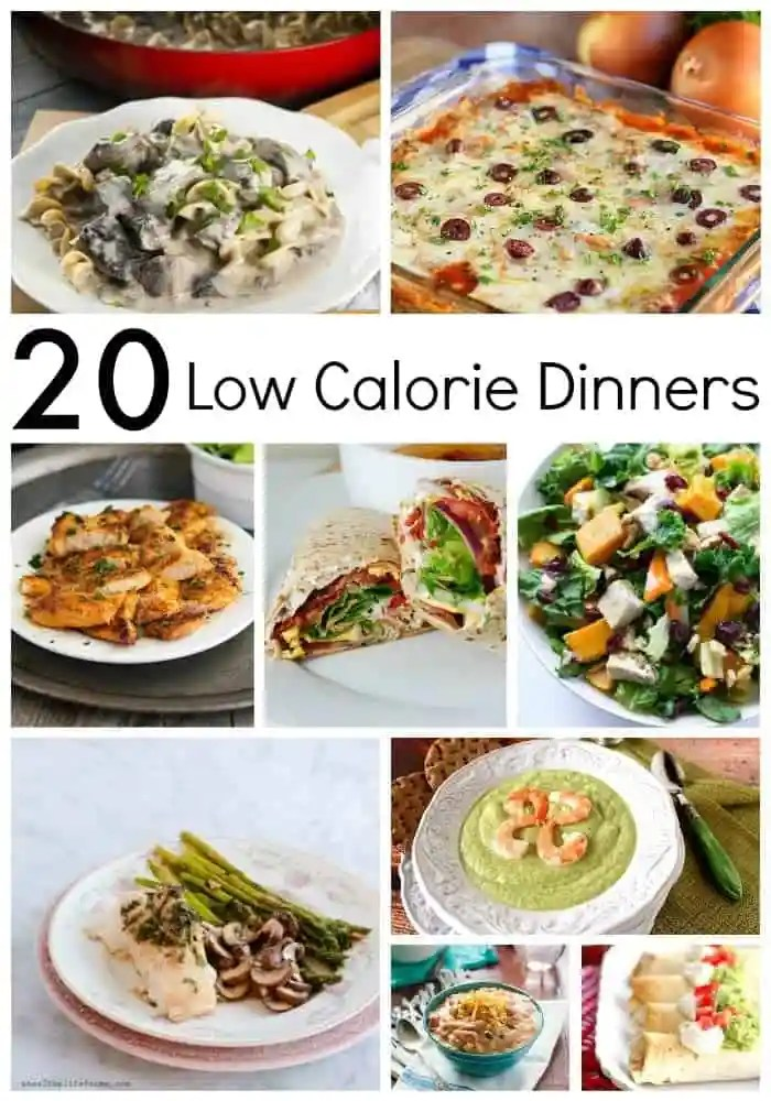 20 Low Calorie Dinners