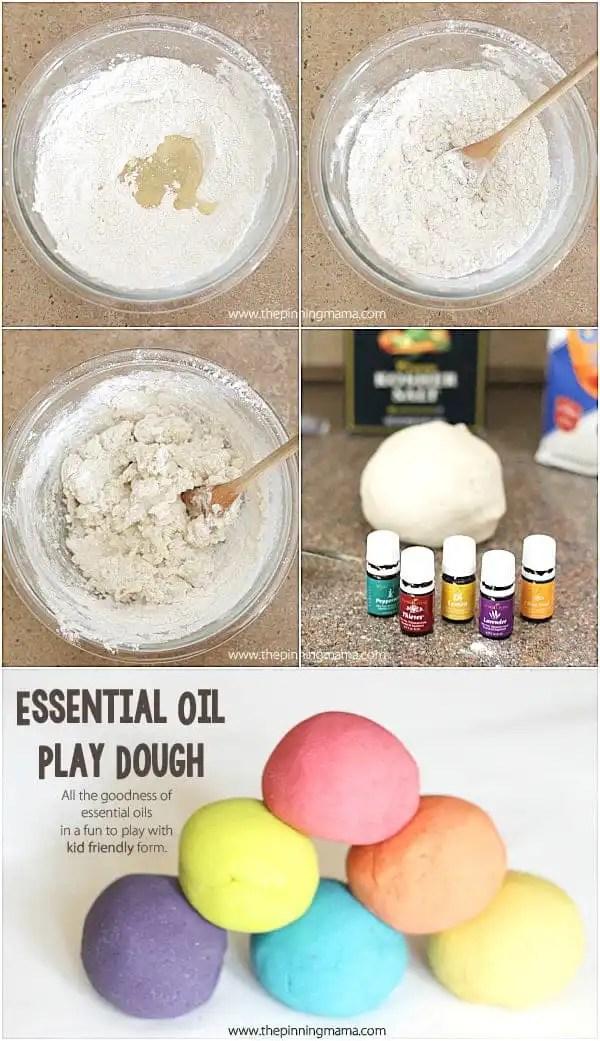 Super easy, super soft, super smell good play dough recipe at thepinningmama.com