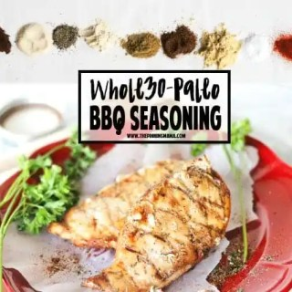 Homemade BBQ Seasoning Recipe - Great for Dry rubs and marinade for chicken or mix with mayo for a crazy good dip for veggies. Whole30 compliant, Paleo, dairy free, gluten free, sugar free and really, really, delicious!!