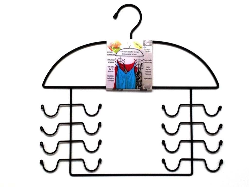 Organize a Closet: Tank top hanger