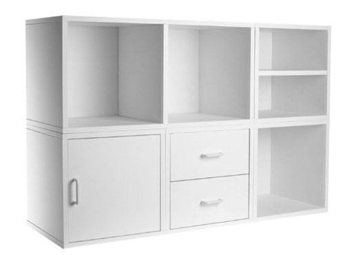 Organize a Closet: Modular Cube Storage System