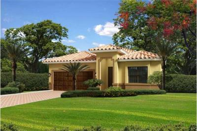 Florida Style Home Plan with 4 Bdrms, 2441 Sq Ft House ...