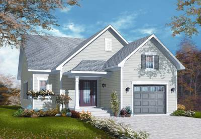 Small Country House Plans - Home Design 3263