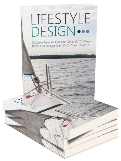 Lifestyle Design Ebook and Videos Package with MMR
